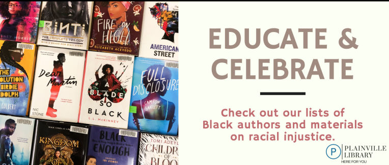 Black authors and racial injustice materials lists