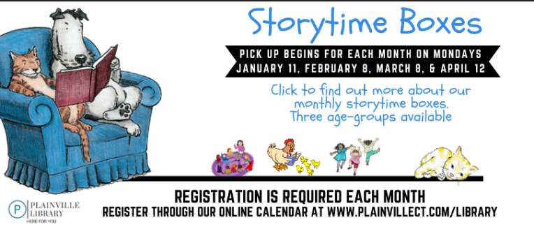 Storytime Boxes, January - April 2021