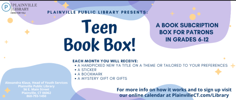 Teen Book Boxes