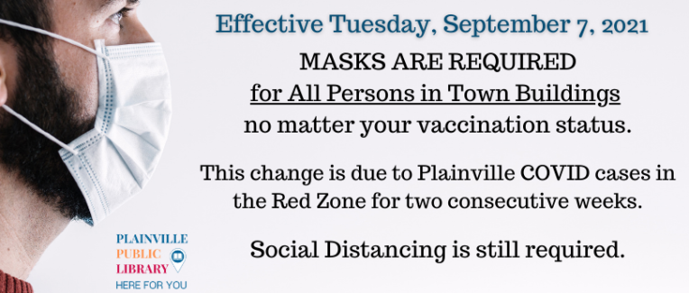 Masks are required for ALL, no matter your vaccination status.